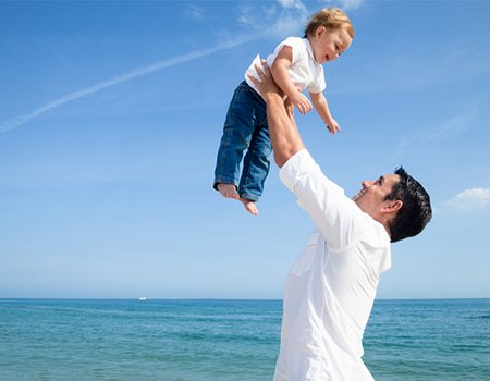 Get fit, the fatherly way