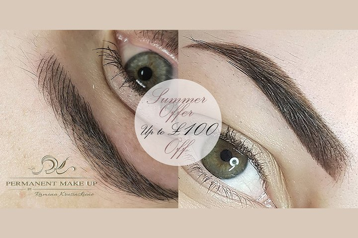 Permanent Makeup Removal By Ramona Beauty Salon In Stirling