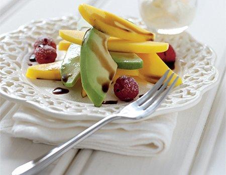 Balsamic, avocado and mango salad plus free recipe booklet