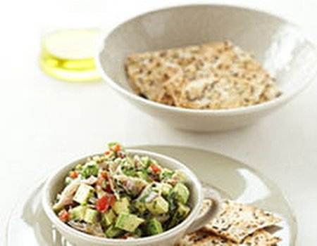 Guacamole with smoked fish plus free recipe booklet