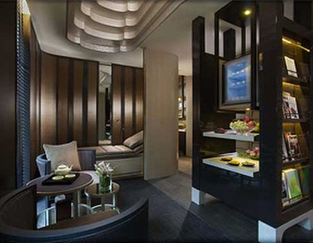 New spa at the Mandarin Oriental, Singapore