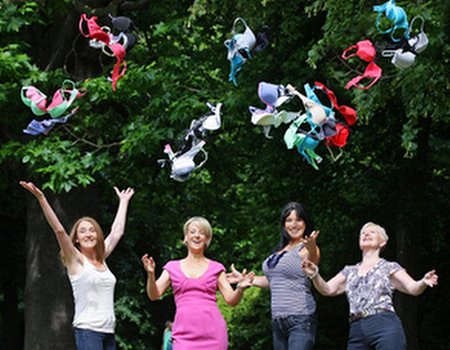 Ladies - donate your old bras and raise money for Breast Cancer Care
