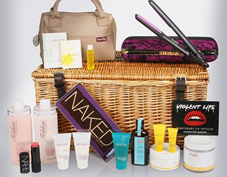 Win over £400 worth of hair and beauty treats