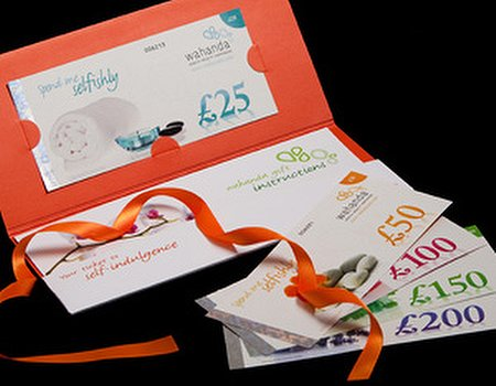 The Wahanda gift voucher - now accepted at over 1,000 venues