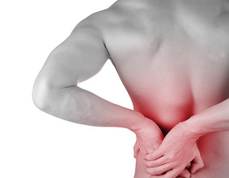 How can I look after my back during exercise?