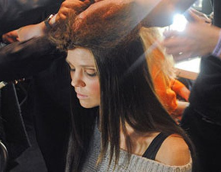Behind the scenes at London Fashion Week with RUSH