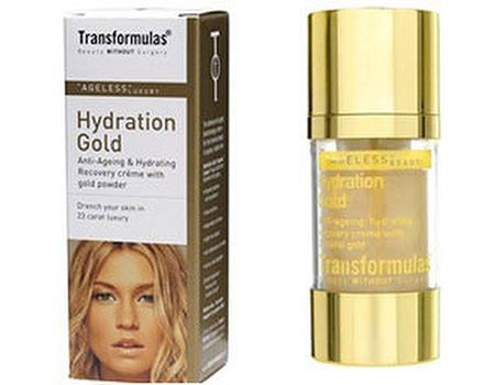 Tried and tested: Transformulas Hydration Gold