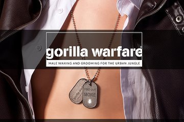 Gorilla Warfare Male Waxing
