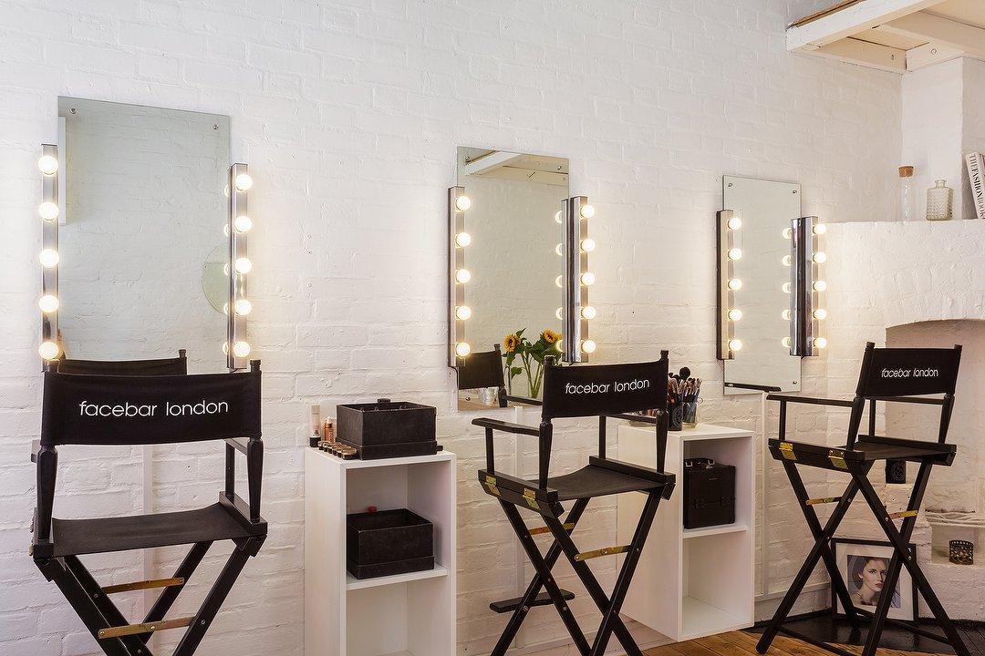 Facebar London Makeup Studio In, Makeup Studio Furniture