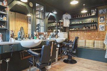 Machete Barber Shop, Elephant and Castle, London