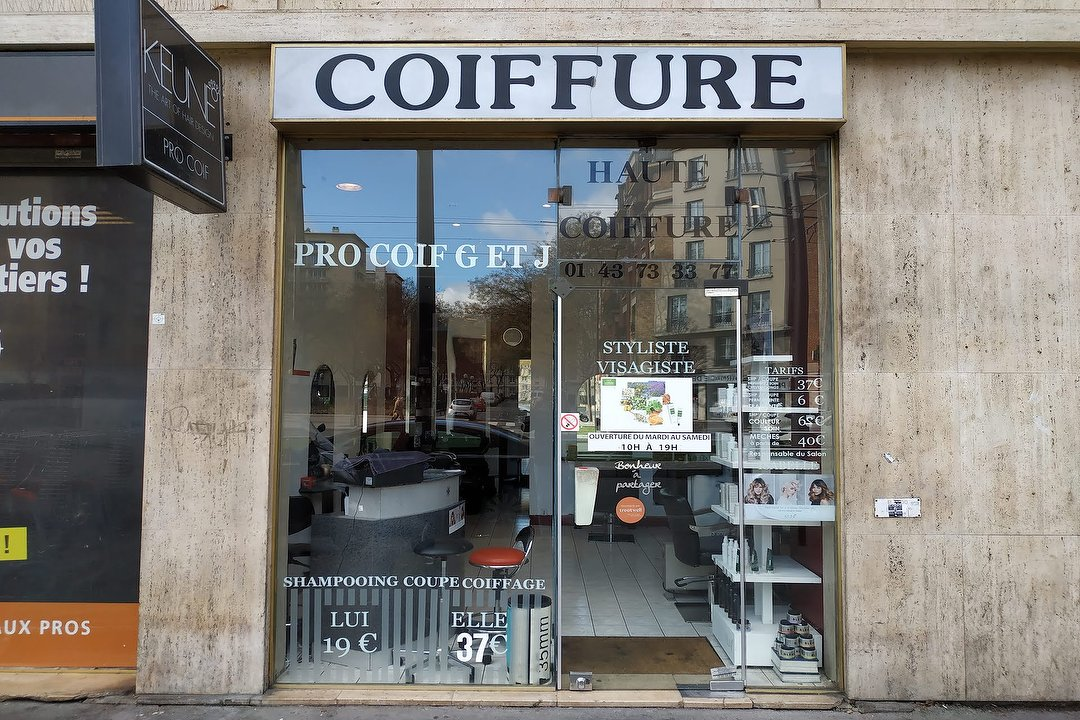 Pro Coif G Et J Coiffure A Porte De Montreuil Paris Treatwell