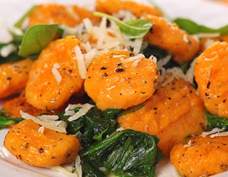 Pumpkin Gnocchi with Sage Infused 'Good Oil'