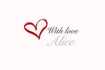 With Love, Alice, Newcastle-upon-Tyne