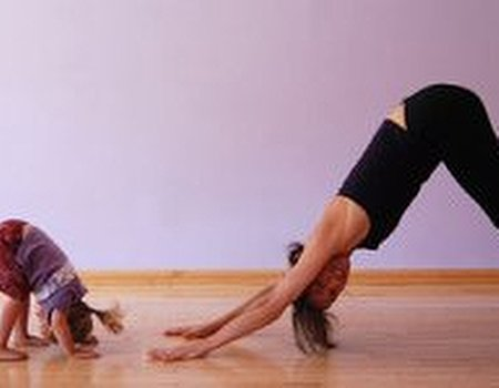 Kids go krazy for yoga