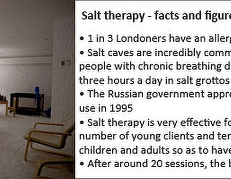 Tried and tested: salt cave therapy