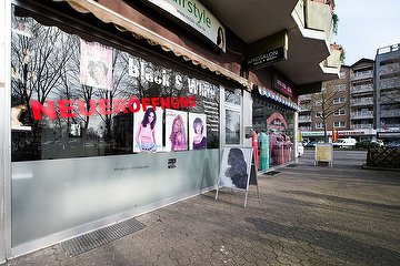 Black & White Hairstyle - Frankfurter Straße, Ostheim, Köln