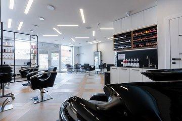 Grey salon
