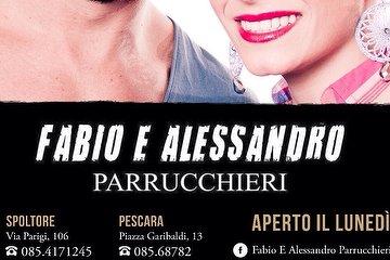 Fabio e Alessandro Parrucchieri, Pescara
