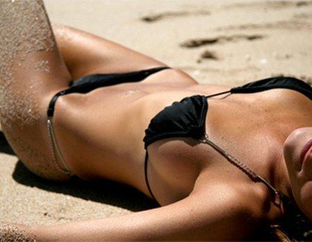 Sun bed junkies: a tan too far?