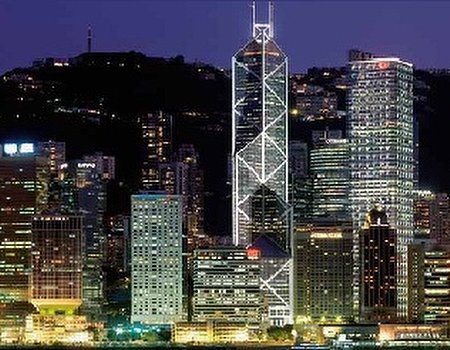 Far and away: Hong Kong